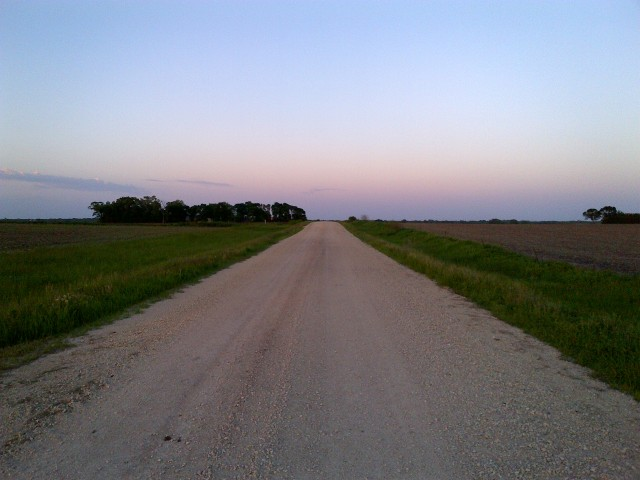 Country roads take me home.