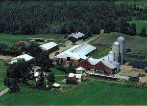 aerial farm