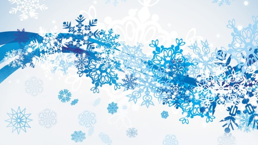 Snowflake-Winter-Abstract