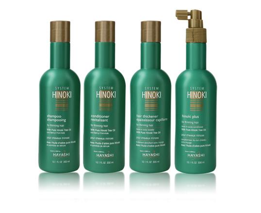 hinoki hair care system
