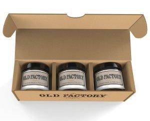 old factory trio